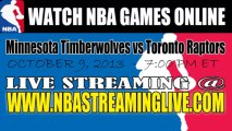 Watch Minnesota Timberwolves vs Toronto Raptors Live Streaming Game Online