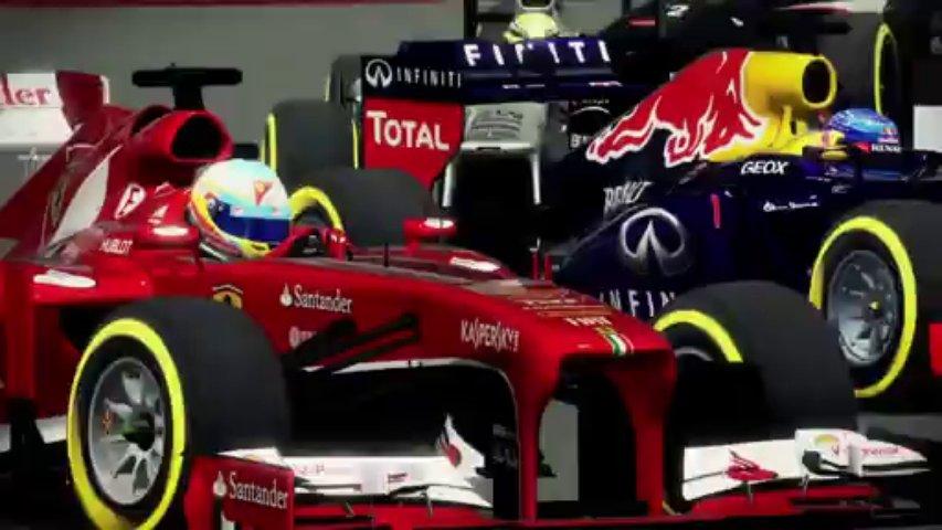 Formula One 2013 Trailer (Gamescom 2013)