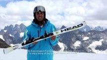 Ski HEAD SUPERSHAPE LR 2014 Junior - Location Ski Intersport