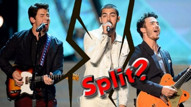 Boy Band Jonas Brothers Split Up ? - Jones Brother Fight - Jonas Brothers Dispute