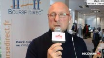 """10/10/13 : Les Experts de Bourse Direct dans l'émission """"Duplex Bourse"""" sur Décideurs TV"""