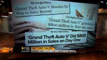 """""""Grand Theft Auto V"""" sets one-day sales record"""