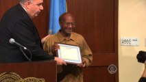 Homeless Boston man rewarded for good deed