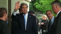 Kerry launches negotiations over Syria weapons destruction