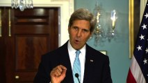"Kerry: ""High confidence"" Syrian regime used chemical weapons"