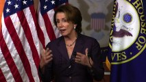 """Pelosi: Short-term debt ceiling hike """"not the right way to go"""""""