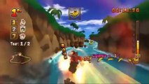 Donkey Kong: Jet Race - Défis de Candy - Niveau 3 - Défi #21 : Gagne avec Diddy Kong !