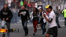 Boston Marathon cheers silenced with single boom