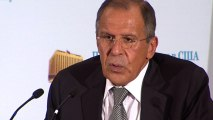 "Russian foreign minister: U.S-Russia relations ""quite normal"""