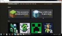 Minecraft Premium Account Generator  2013)[NO SURVEY][NO VIRUS][PROOF]