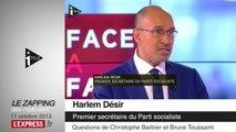 """Roms: il n'y a pas """"une particule de racisme chez Manuel Valls"""", affirme Bruno Le Roux"""