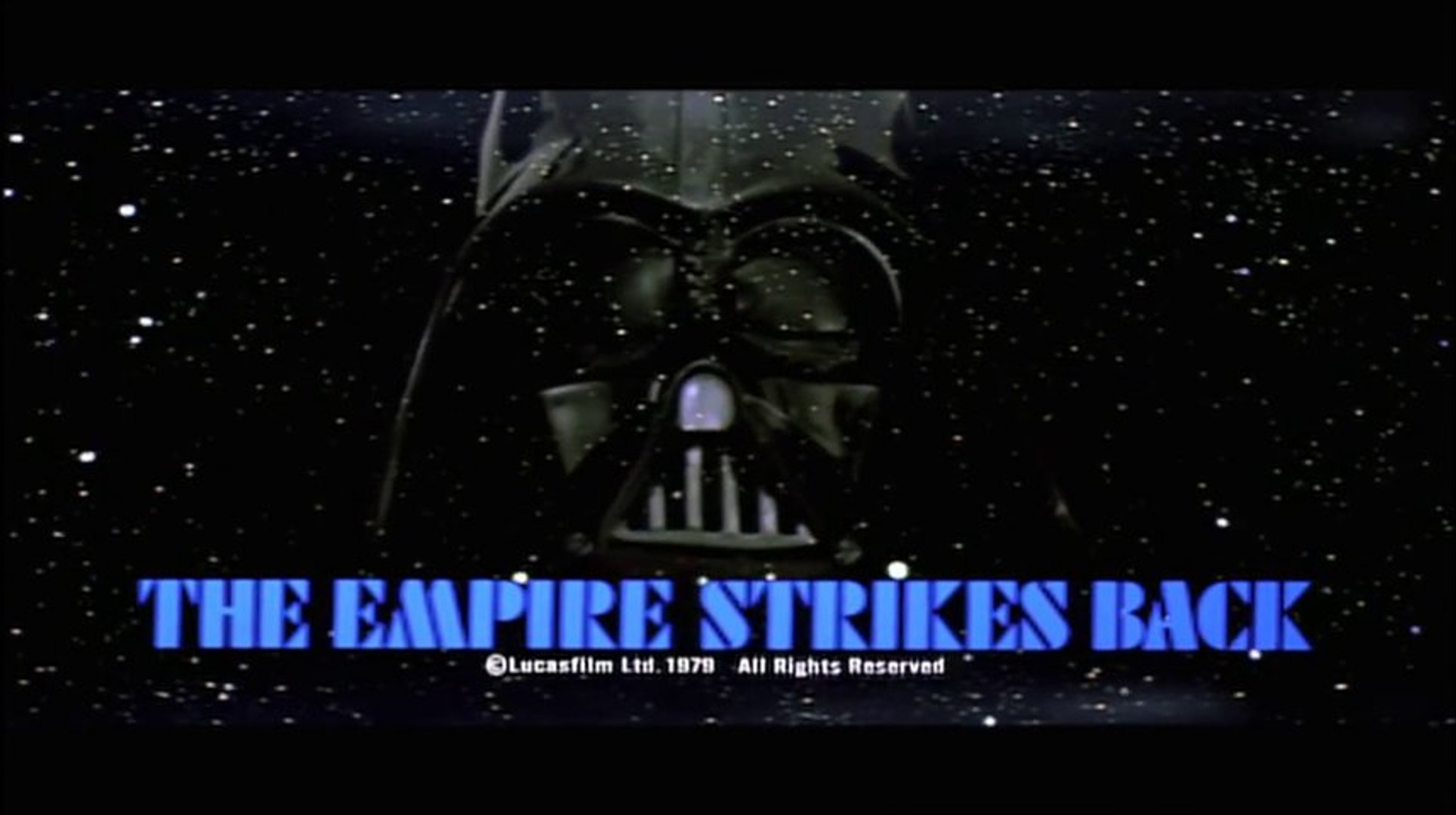 Star Wars Episode V The Empire Strikes Back 1980 Original Trailer Vo Hd Video Dailymotion