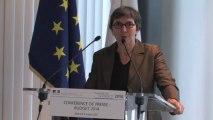 Valérie Fourneyron présente le budget 2014 du ministère jeunesse et sports