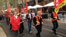 Près de 400 personnes dans les rues contre la réforme des retraites