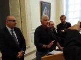 Prix Bayeux : le président Nachtwey remercie Bayeux