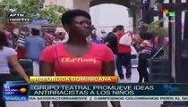 Grupo teatral dominicano promueve campaña antirracista en escuelas