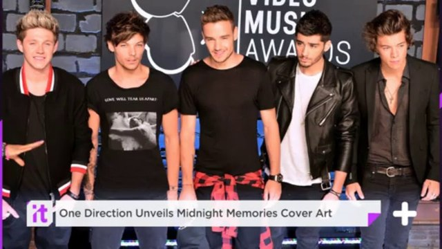 One Direction Unveils Midnight Memories Cover Art