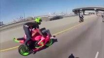 porno biker pulling a 69 wheelie - Amazing Skills