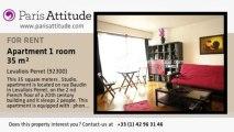 Studio Apartment for rent - Levallois Perret, Levallois Perret - Ref. 1412