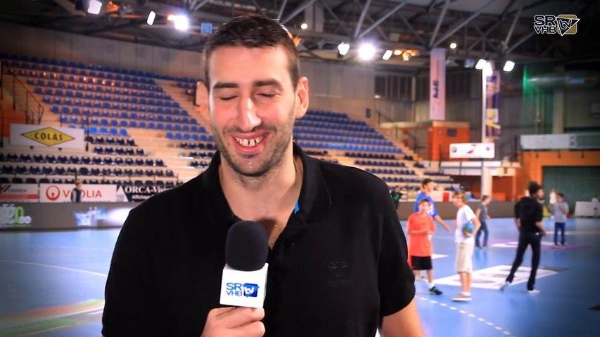 Après-Match Saint-Raphaël/Sélestat Interview Raphaël Caucheteux