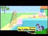 Latino Peppa - a Nadar!!! en español latino discovery kids
