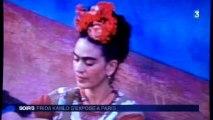 Frida Kahlo s'expose à Paris