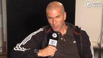 Zinedine Zidane juge le projet de l'OM