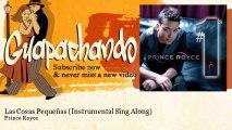 Prince Royce - Las Cosas Pequeñas - Instrumental Sing Along