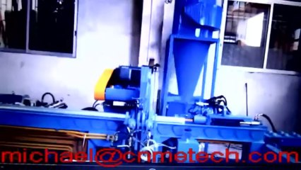Automatic Aluminum billets sawing machine ( cut to length 300mm-1m)