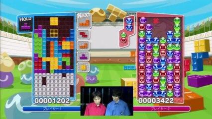 TGS Gameplay de Puyo Puyo Tetris