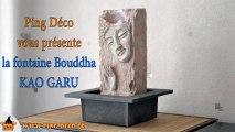 Fontaine mur d'eau visage Bouddha KAO GARU (WWW.PING-DECO.FR)