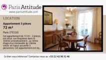 Appartement 2 Chambres à louer - Porte Maillot/Palais des Congrès, Paris - Ref. 7793