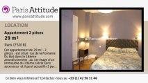 Appartement 1 Chambre à louer - Montmartre, Paris - Ref. 7292