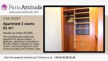 1 Bedroom Apartment for rent - Neuilly sur Seine, Neuilly sur Seine - Ref. 3232