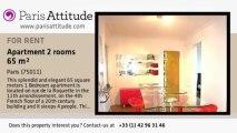 1 Bedroom Apartment for rent - Voltaire, Paris - Ref. 3755
