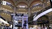 Galeries Lafayette de Paris celebram centenário de emblemática cúpula