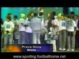 Sporting campeão 2001/2002, Festa na praça sony