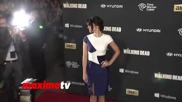 Lauren Cohan The Walking Dead 4th Season PREMIERE
