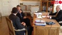 De Caunes joue au ministre pour le Cluedo - De Caunes joue au ministre pour le Cluedo