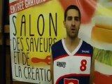 10 oct. 2013 : interviews après le match USM Pierre-Bénite vs St-Apollinaire (Basket Nat. 3)