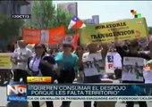 Chile: indígenas mapuches protestan contra despojo de tierras