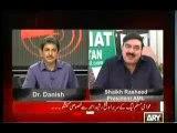Sheikh Rasheed Exclusive on Sawal Yah Hai - 13th October 2013 With Dr Danish
