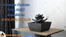 Fontaine déco intérieur temple TANA MARU (disponible sur WWW.PING-DECO.FR)