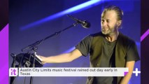 Austin City Limits Music Festival Rained Out Day Early In Texas