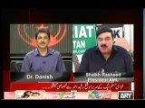 Sheikh Rasheed Exclusive on Sawal Yah Hai - 13th October 2013 With Dr Danish ARYNews