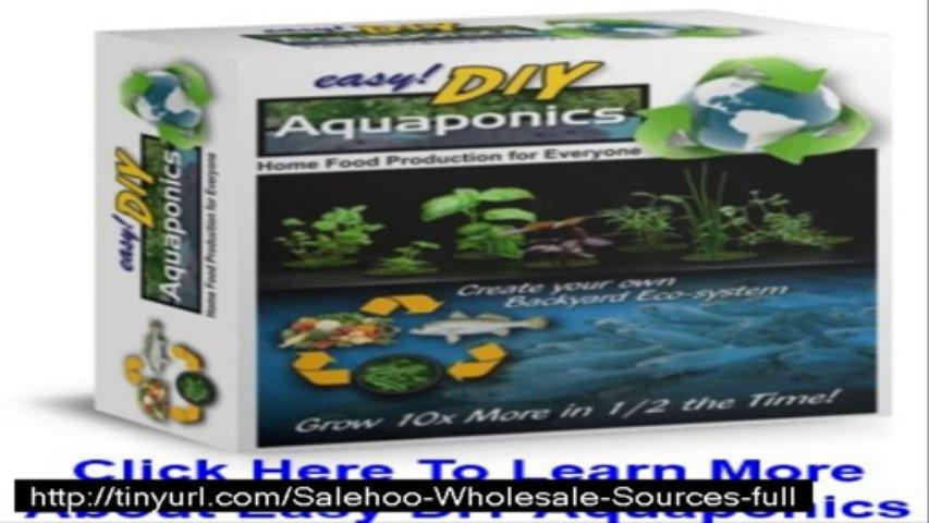 easy diy aquaponics scam ??