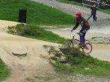 BMX Coupe des lacs 2013 finale D Juniors