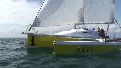 «P'tit jaune 2» : le Tricat de Voiles & Voiliers