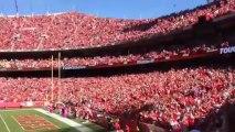 CHIEFS 137.5 decibels loudest crowd ever World Record!! NFL - Kaiser Chiefs 2013