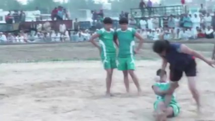 02 Catcher Best Catch - FreeStyle Girls Kabaddi Tournament 2013 Match 14